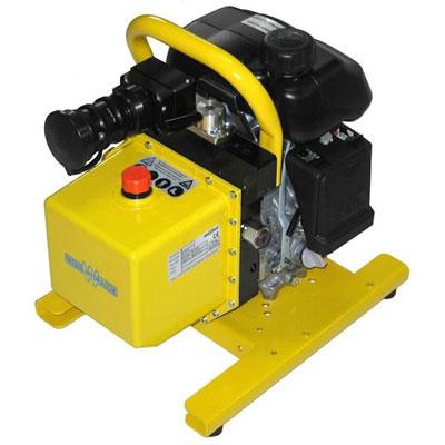 Weber Hydraulik E400 and V400 power unit