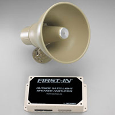 Westnet First-In Outside Satellight Controller alerting audio