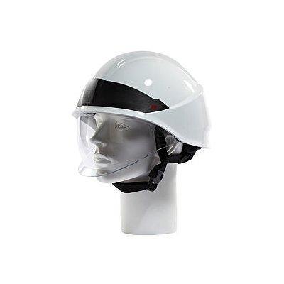 Rosenbauer 157006 HEROS-smart White Firefighting Helmet