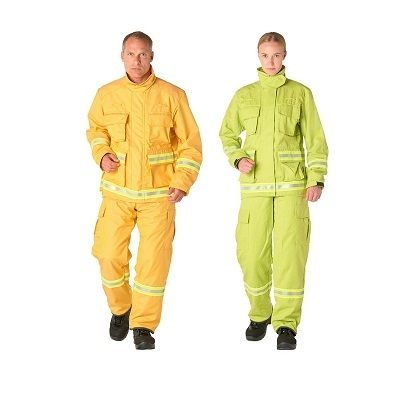 Bristol Uniforms WILDLAND FIREFIGHTING PPE lightweight and inherently flame retardant