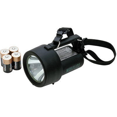 Wolf Safety H-4DCA primary cell powered safety handlamp