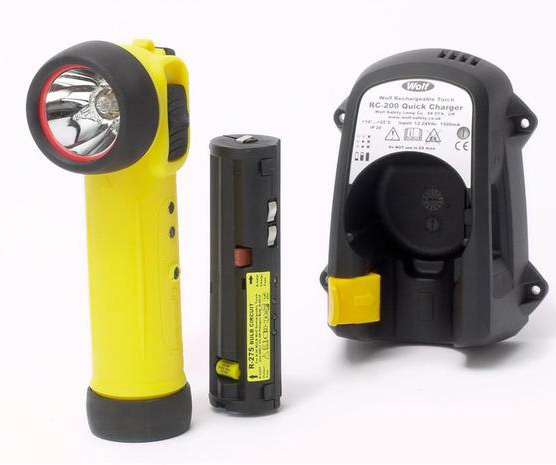 Wolf Safety R-30 rechargeable torch