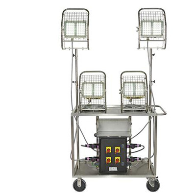 Wolf Safety WF-350 mobile lighting unit