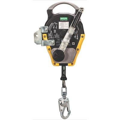 MSA SRB430201 Rope Bag #2, Orange, Holds 200 Ft/ 1/2