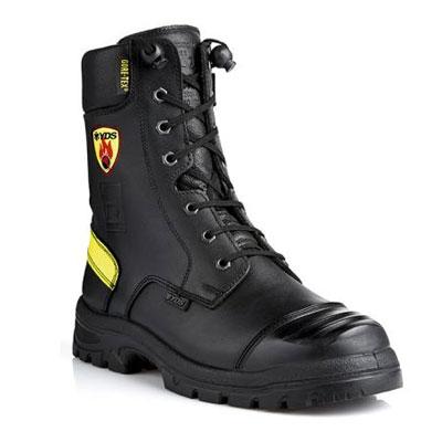 YDS NFSR1197 ZEUS side zip fire and rescue boot