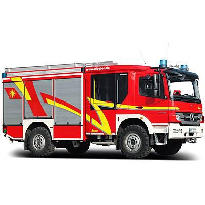 Ziegler HLF 10 on MAN All-Wheel standard fire fighting vehicle