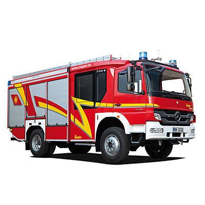 Ziegler HLF 20 on MB Atego All-Wheel standard vehicle