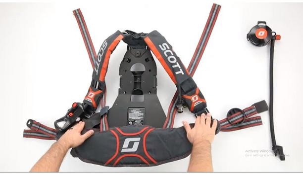 3M Scott Air-Pak X3 Pro SCBA Harness Installation