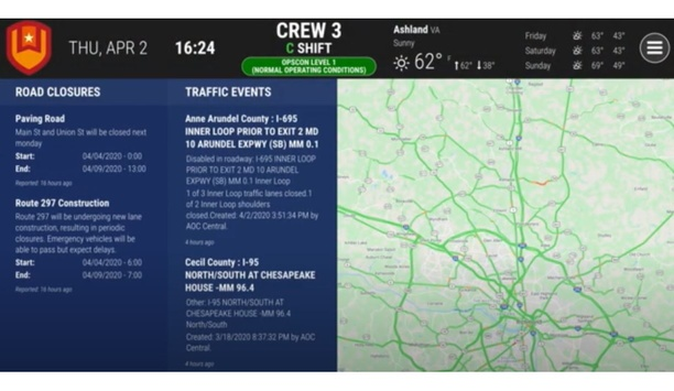 Active911 Integrated On First Arriving Dashboards For Fire And EMS Incident Alerts