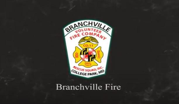 Branchville's E811B Responds To A Fire On I95