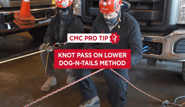 CMC Pro Tip On How To Pass A Knot On Lower Through The Clutch Using An AZTEK