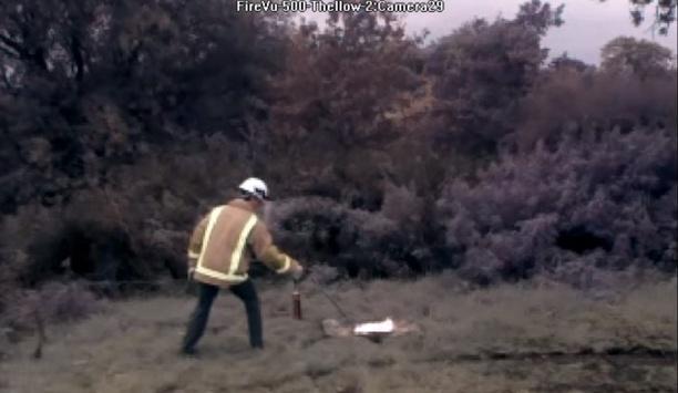 FireVu 500 20 Metre N Heptane Fire Test Video