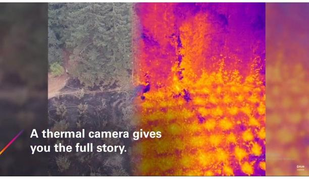 Spotting Brush Fire Hot Spots With A FLIR Thermal Drone