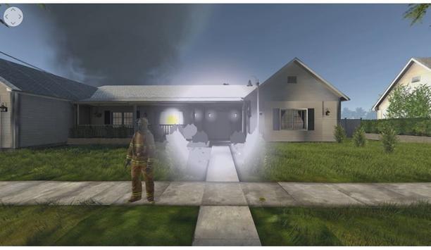 FLIR VR: Fire Simulation | 360 Video