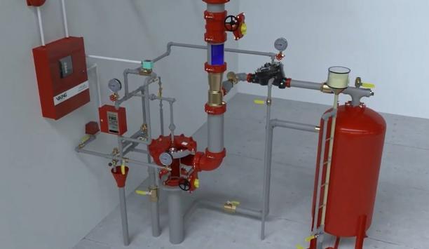 Viking Provides Foam Fire Suppression Systems