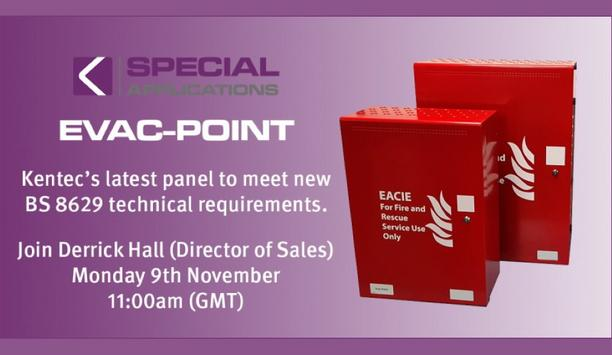 Special Applications – NEW EACIE Panel (EVAC-POINT) From Kentec